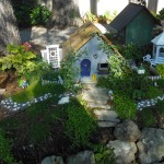 Fairy Garden Sample with stone stairs