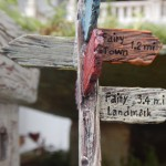 Fairy Garden with Signs